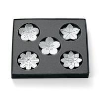 【能作】箸置 - 「花ばな」 - 5ヶ入