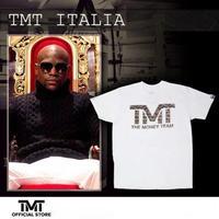 【THE MONEY TEAM】TMT ITALIA White T-Shirt