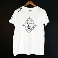 【BUFFONE】No.8 White T-Shirt