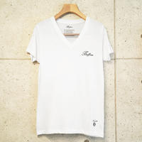 【BUFFONE】No.9 White T-Shirt
