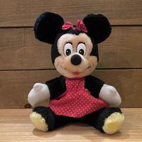 Disney Minnie Mouse Plush Doll/ディズニー ミニー・マウス ぬいぐるみ/201121-7