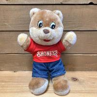 SHONEY'S Shoney Bear Plush Doll/ショーニーズ ショーニーベア ぬいぐるみ/200514-5