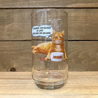 9-Lives Morris the Cat Glass/9ライブズ モリス グラス/210724-1