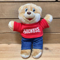 SHONEY'S Shoney Bear Plush Doll/ショーニーズ ショーニーベア ぬいぐるみ/200514-4