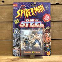 SPIDER-MAN Web of Steel Spider-Man VS Smythe Figure Set/スパイダーマン スパイダーマン VS スマイス フィギュアセット/200416-13