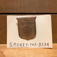 SMOKEY BEAR Junior Forest Ranger Pin/スモーキーベア ジュニアフォレストレンジャー ピンバッジ/200118-2