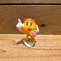 PAC MAN Mrs Pac man PVC Figure/パックマン ミセス・パックマン PVCフィギュア/191225-9