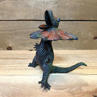 DINOSAURS Frilled Lizard Figure/恐竜 エリマキトカゲ フィギュア/210317-21