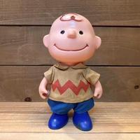 PEANUTS Charlie Brown Plastic Doll/ピーナッツ チャーリー・ブラウン プラスチックドール/210618−14