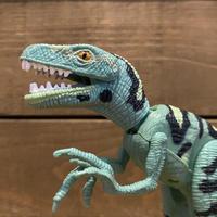 JURASSIC PARK Velociraptor Green Figure/ジュラシックパーク ヴェロキラプトル・グリーン フィギュア/200218-4