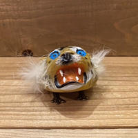 虎の顔 ゼンマイ玩具/210101-27