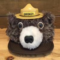 SMOKEY BEAR Plush Cap/スモーキーベア ぬいぐるみ帽子/190527-6