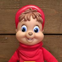 Alvin and the Chipmunks Alvin Plush Doll/アルビンとチップマンクス アルビン ぬいぐるみ/190625-9