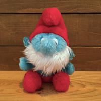 the SMURFS Papa Smuf Plush Doll/スマーフ パパスマーフ ぬいぐるみ/180824-3