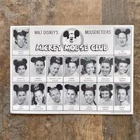 Disney Mickey Mouse Club Post  Card/ディズニー ミッキーマウスクラブ ポストカード/210529−3