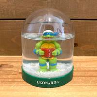 TURTLES Leonardo Snow Globe/タートルズ レオナルド スノードーム/191104-3