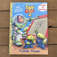 TOY STORY Puzzle Power Playing Book/トイストーリー パズルパワー プレイングブック/191119-8