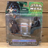 STAR WARS Darth Maul & Darth Vader Figure/スターウォーズ  ダース・モール&ダース・ベイダー フィギュア/210130-12