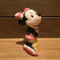 Disney Minnie Mouse Ceramic Figurine/ディズニー ミニーマウス 陶器フィギュア/181005-15