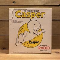 Casper Transistor Radio/キャスパー トランジスタラジオ/200921-6