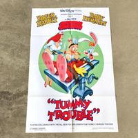 Who Framed ROGER RABBIT Tummy Trouble Poster/ロジャーラビット タミートラブル ポスター/190315-13