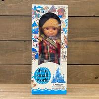 it's a small world Scotland Girl Doll/イッツアスモールワールド スコットランドの女の子 ドール/200811-9