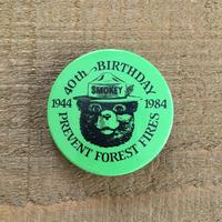 SMOKEY BEAR Bottun/スモーキーベア 缶バッジ/190527-3