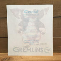 GREMLINS Gizmo Iron On/グレムリン ギズモ アイロンオン/190718-1