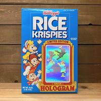 Kellogg's Rice Krispies Cereal Box/ケロッグ ライスクリスピーズ シリアルボックス/210123−2