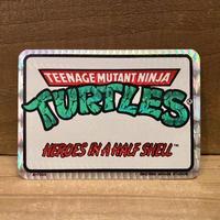 TURTLES Card Sticker/タートルズ ステッカー/210101-12