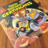 Who Framed ROGER RABBIT Halloween Paper Sign/ロジャーラビット ハロウィン ペーパーサイン/190917-5
