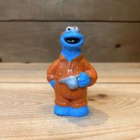 SESAME STREET Cookie Monster Figure /セサミストリート クッキーモンスター フィギュア/210808-4