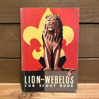 Cub Scout Book 【Lion-Webelos】/カブスカウトブック【ライオン・ウェブロス】/200118-7