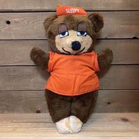 TRAVELODGE Sleepy Bear Plush Doll/トラベロッジ スリーピーベア ぬいぐるみ/210413−22