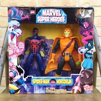 MARVEL 10Inch Spider-Man2099 VS Hobgoblin Figure/マーベル 10インチ スパイダーマン2099 VS ホブゴブリン フィギュア/190309-1