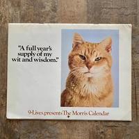 9-Lives Morris 1978 Calender/9ライブズ モリス 1978年カレンダー/210724-5