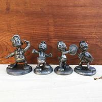 Disney Donald With Huey, Dewey & Louie Pepar Weight/ディズニー ドナルドとヒューイ、デューイ&ルーイ ペーパーウェイト/171228-3