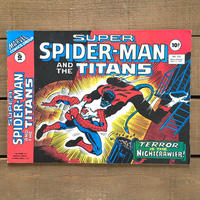 SPIDER-MAN Super Spider-man and the Titans Comics 1977.May.222/スパイダーマン コミック 1977年5月222号/190425-13
