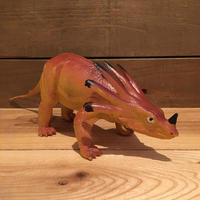 DINOSAUR Styracosaurus Rubber Toy/恐竜 スティラコサウルス ラバートイ/190903-2