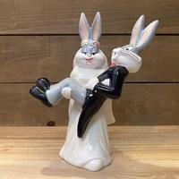 LOONEY TUNES  Bugs  Bunny & Honey  Bunny Figurine/ルーニーテューンズ バッグス・バニーとハニー・バニー フィギュアリン/211006−5