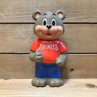 SHONEY'S Shoney Bear Coin Bank/ショーニーズ ショーニーベア コインバンク/200514-2