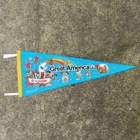 Hanna-Barbera Great America Souvenir Pennant/ハンナバーベラ グレートアメリカ スーベニアペナント/190710-3