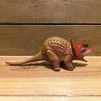 DINOSAUR Triceratops Rubber Toy/恐竜 トリケラトプス ラバートイ/191121-3
