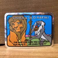THE LION KING Hologram Card/ライオンキング ホログラムカード/210422−13