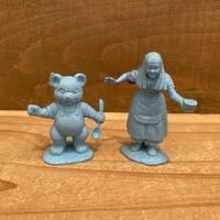 Goldilocks and the Three Bears Figure Set/ゴルディロックスと3匹のくま ゴルディロックス & ベビーベア フィギュアセット/191118-4