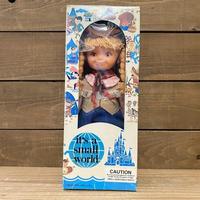 it's a small world Western Girl Doll/イッツアスモールワールド アメリカ西部の女の子 ドール/200811-11
