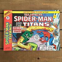 SPIDER-MAN Super Spider-man and the Titans Comics 1977.Jan.207/スパイダーマン コミック 1977年1月207号/190425-5