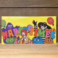 McDonald's Party Hat/マクドナルド パーティーハット/201222-2