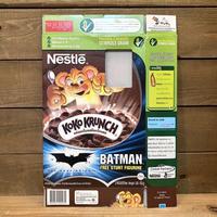 BATMAN Koko Krunch Cereal Box/バットマン ココクランチ シリアルボックス/210815-7