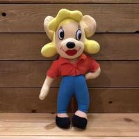 MIGHTY MOUSE Pearl Pureheart Plush Doll/マイティマウス パール・ピュアハート ぬいぐるみ/210101−41
